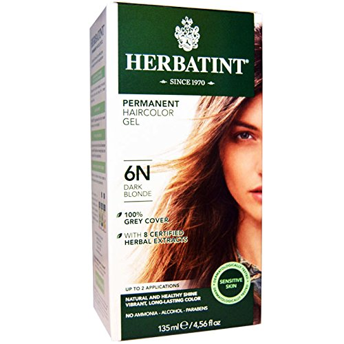 (4 PACK) - Herbatint 6N Dark Blonde | 150ml | 4 PACK - SUPER SAVER - SAVE MONEY