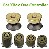 xbox one bullet buttons - YTTL Thumbsticks Bullet Buttons and Bullet ABXY Buttons Set Mod Kits for Xbox one / Xbox ONE Elite Controller