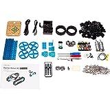 Makeblock DIY Starter Robot kit - Premium Quality - STEM Education - Arduino - Scratch 2.0 - Programmable Robot Kit for Kids to Learn Coding, Robotics and Electronics (Bluetooth Version)