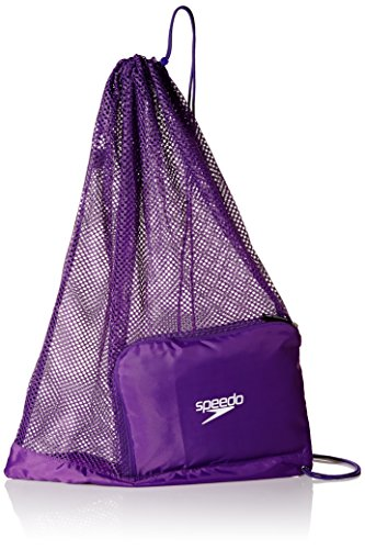 (Speedo Ventilator Mesh Equipment Bag, Prism Violet, 1SZ)