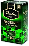 Paulig Presidentti (President) - Dark Roast - Fine Grind - Premium Filter Blend Ground Coffee - Bag 500g (Finland) (12 Bags (Save 50%))