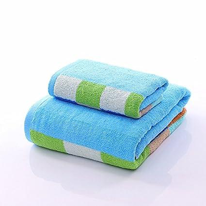 Toalla de algodón para enviar un párrafo con una toalla de algodón hombres y mujeres adultos