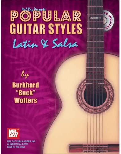 Popular Guitar Styles - Latin & Salsa. Partituras, CD para ...