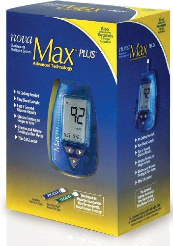 Sang système de surveillance du glucose en Nouvelle-Max Plus