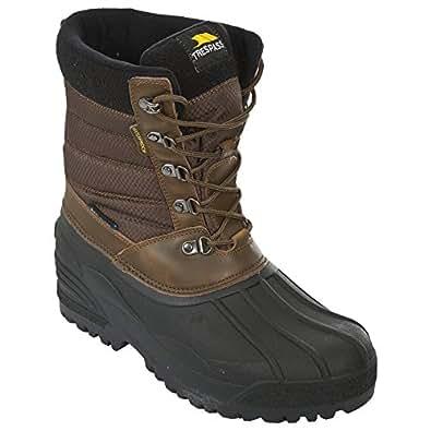 Amazon.com | Trespass Mens Negev Winter Snow Boots | Snow