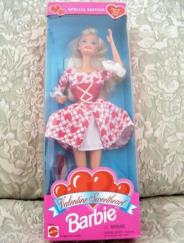 1995 Special Edition Valentine Sweetheart Barbie