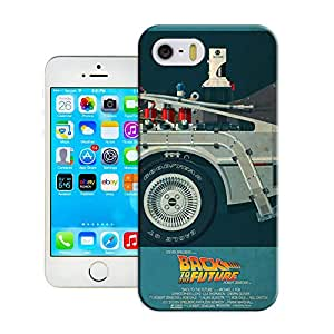 DIY ARTICLE?248-DeLorean Time Machine, Back to the FutureCustom Unique Creative Art Pattern Cell Phone Case For iPhone5/5S