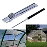 Automatic Carbon Steel Greenhouse Window Automatic Vent Opener, Agricultural Greenhouse Window Opener, Solar Heat Sensitive Window Opener, Solar Heat Roof Autovent Vent Opener Set Household