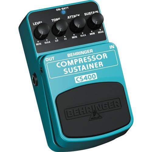 Behringer Compressor/Sustainer CS400 Ultimate Dynamics Effects Pedal