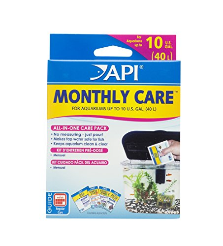 API MONTHLY CARE All-In-One Aquarium Care Additive Pack from API