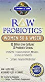 Garden of Life - RAW Probiotics Women 50 & Wiser - Acidophilus Live Cultures - Probiotic-Created Vitamins, Minerals, Enzymes and Prebiotics - Gluten Free - 90 Vegetarian Capsules