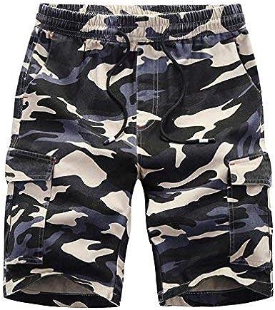 BOLAWOO-77 Pantalón Corto De para Pantalones Algodón Hombre Cortos Bermudas Mode De Marca Pantalón De Chándal Moda Joven Camuflaje Niños Casual: Amazon.es: Ropa y accesorios