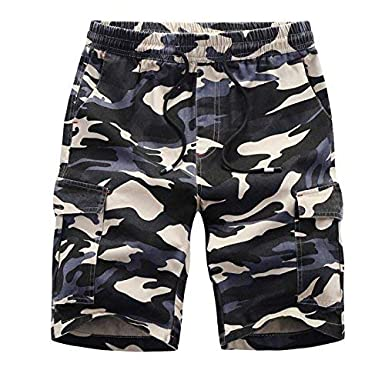 BOLAWOO-77 Pantalón Corto De para Pantalones Algodón Hombre Cortos ...