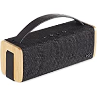 House of Marley EM-JA012-SB Riddim Bt Portable Audio System, Signature black