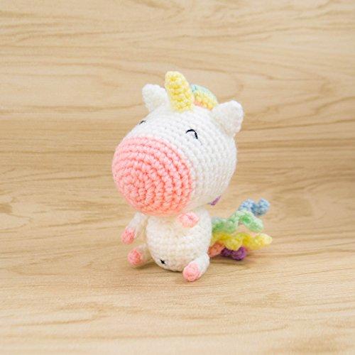 Crochet Unicorn Plush