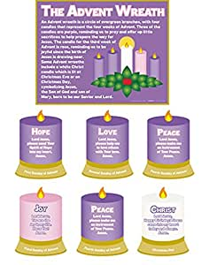 Amazon.com: The Meaning of the Advent Wreath Christmas ...