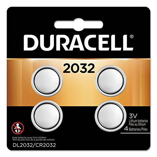 Duracell - Lithium Medical Battery, 3V, 2032, 4/Pk DL2032B4PK (DMi PK