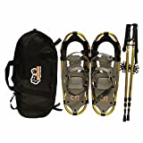 New Style DePaw Man Woman Kid Snowshoes with Pole Free Bag 23inch