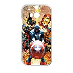 Happy The Avengers superman Cell Phone Case for HTC One M8