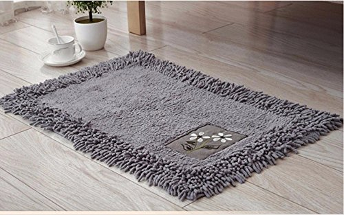 Mat rectangle household mats kitchen mats Watergate mat bathroom mats -5080cm c by ZYZX