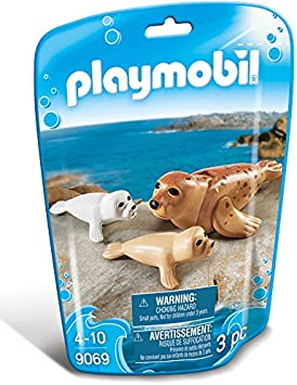 Playmobil Foca con Bebés  9069