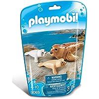 Playmobil-9069 Foca con Bebés, (9069)
