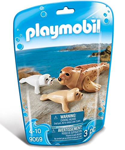 PLAYMOBIL Seal with Pups Building Set