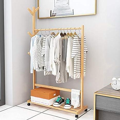 Perchero de dormitorio con diseño de lija para colgar ropa ...