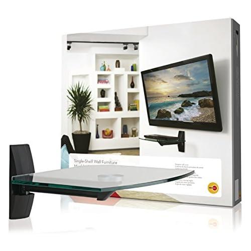 chollos oferta descuentos barato OmniMount OMN ECSB Soporte para televisor 40 cm 4 cm Cristal acero