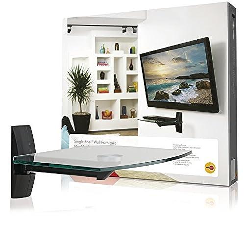 cable box shelf under tv stand. Black Bedroom Furniture Sets. Home Design Ideas
