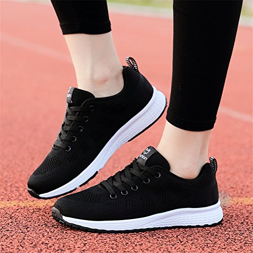 Air Competition Running Sports Sneakers UK Black Athletic Trainers 2 5 Fitness populalar 2 Casual Flats Men Shoes 8 Women XB1xwFP