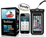Cheap iBobber Wireless Bluetooth Smart Fish Finder for iOS and Android devices & JOTO Universal Waterproof CellPhone Case (Bundle)