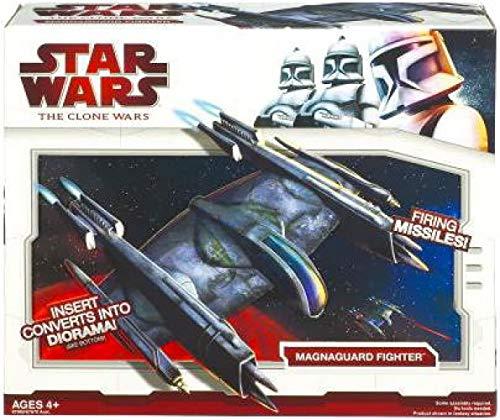 Star Wars 2009 Clone Wars Vehicle Magnaguard Fighter ()