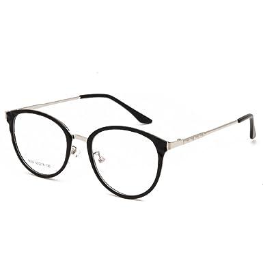 Amazon.com: Langford Retro Translucent Eyeglasses Frame For Women ...