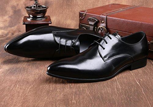 à Chaussures Noir homme de pour lacets Dilize ville BtzvqwfT
