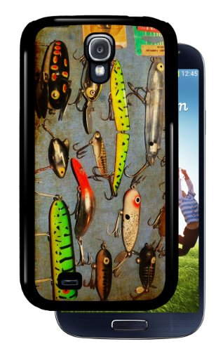 colorful-vintage-lures-black-samsung-galaxy-s4-dual-protective-durable-case