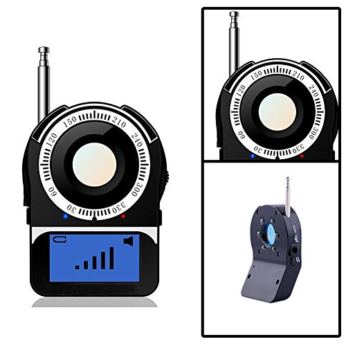 RF Detector Anti-Spy Signal Bug Hidden Camera Laser Lens GSM (Frequency Finder Bug)