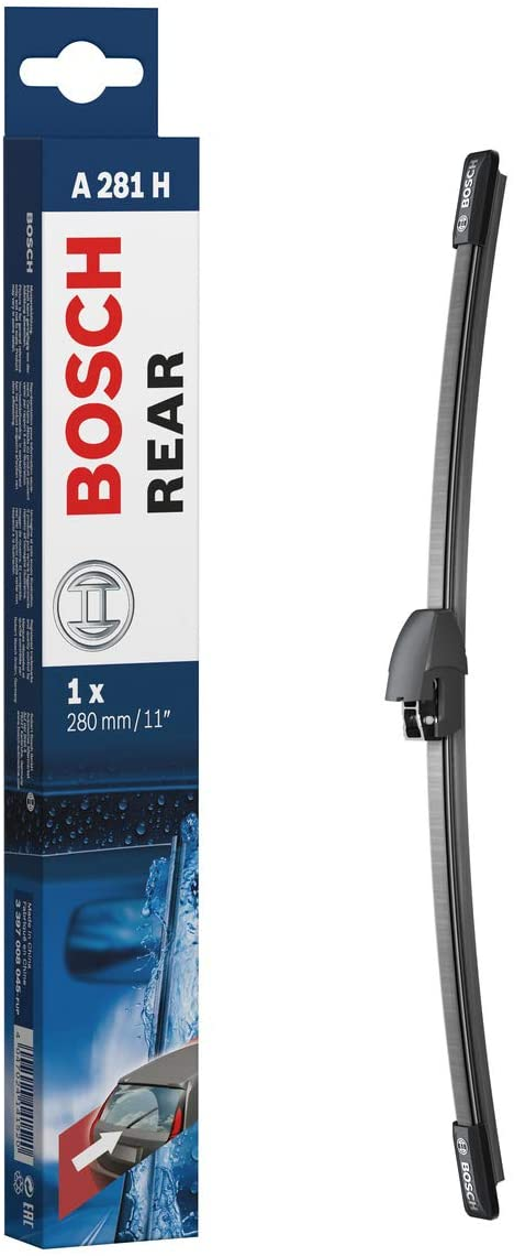 Escobilla limpiaparabrisas Bosch Rear A281H, Longitud: 280mm – 1 escobilla limpiaparabrisas para la ventana trasera