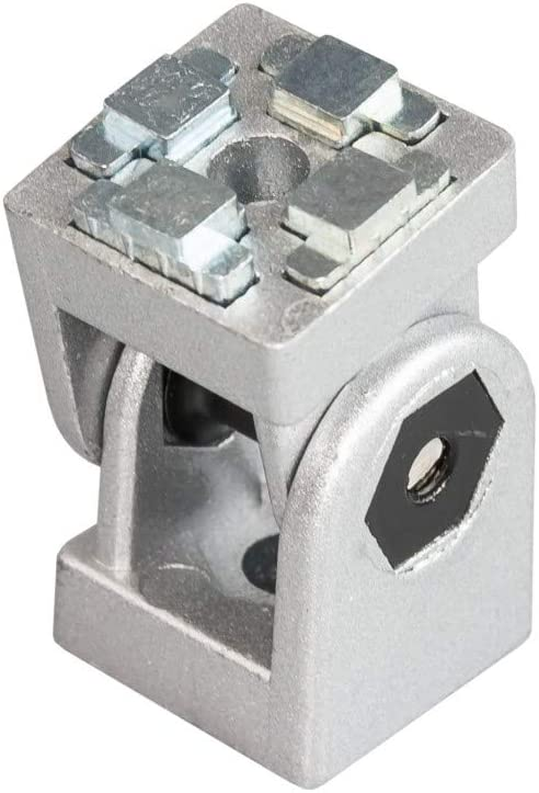 u Abdeckkappe Profilverbinder Winkel 40x40 für Aluprofil Nut 8 Befestigungsm