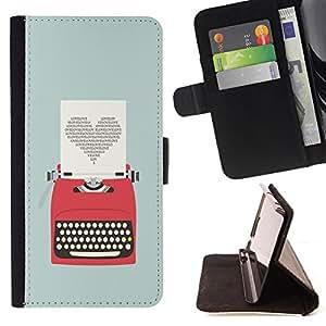 Jordan Colourful Shop - FOR HTC One M9 - The best is come - Leather Case Absorci¨®n cubierta de la caja de alto impacto