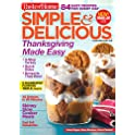 1-Year Simple & Delicious Magazine Subscription