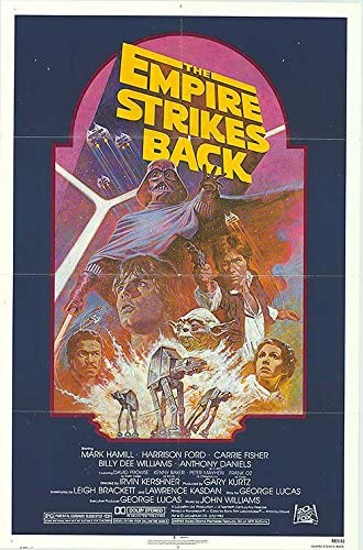Star Wars Episode V The Empire Strikes Back Authentic Original 27x41 Folded Movie Poster At Amazon S Entertainment Collectibles Store