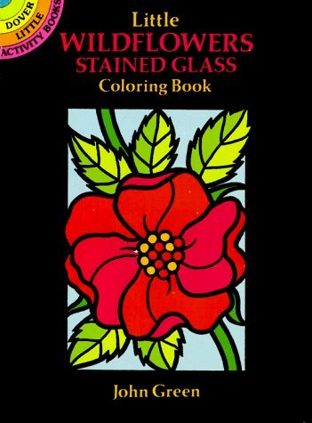(Little Wildflowers Stained Glass Coloring Book (Dover Stained Glass Coloring Book) by John Green (1992-08-03))