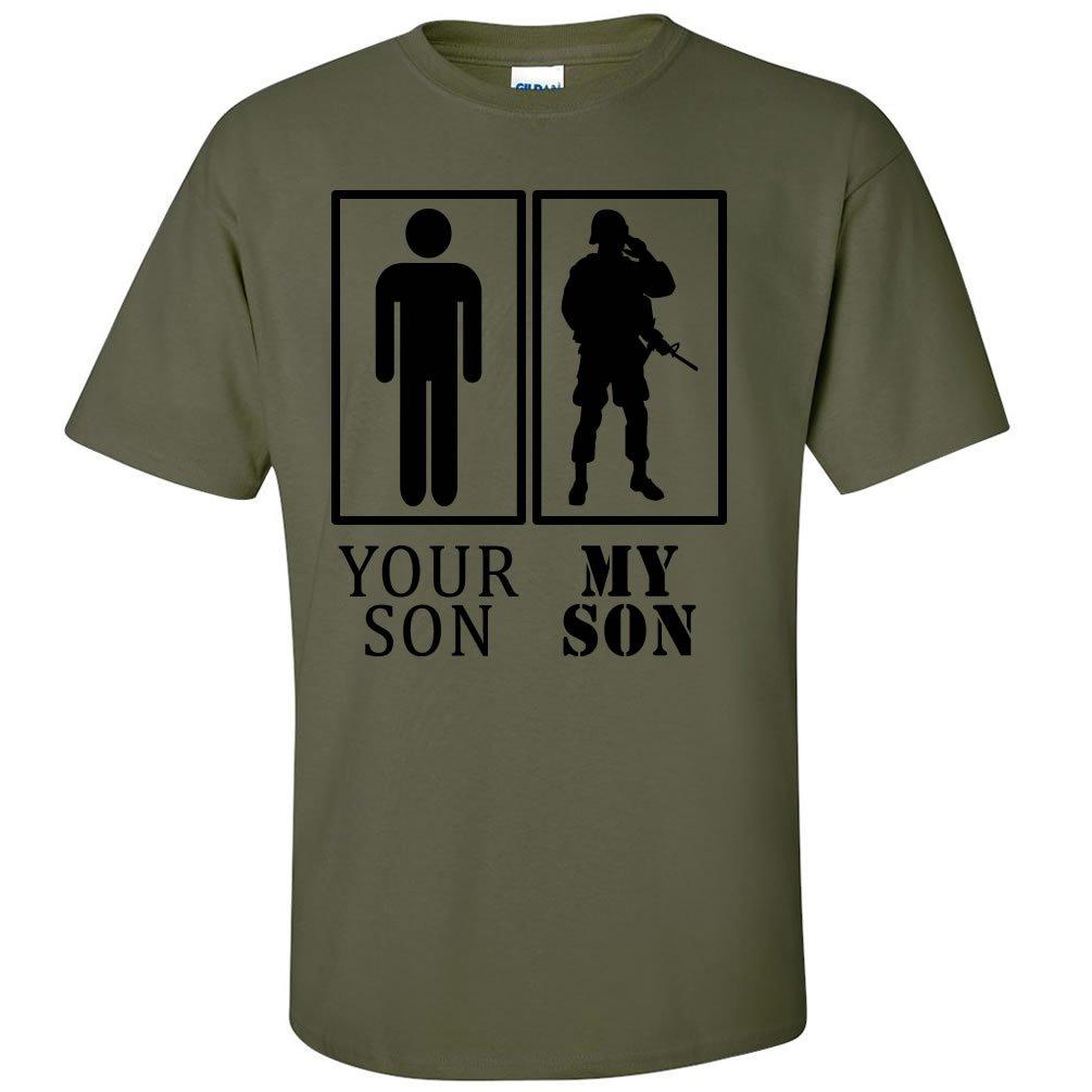 ZeroGravitee Your Son My Son Military Short Sleeve T-Shirt