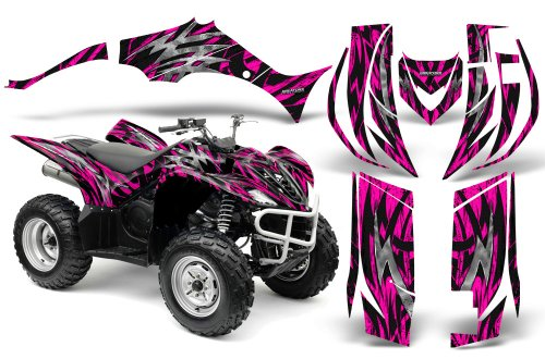 CreatorX Yamaha Wolverine Graphics Kit Decals Bolt Thrower Pink