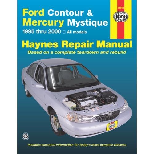 Haynes Ford Contour and Mercury Mystique (95 - 00) Manual (Shop Mystique)