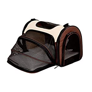YD Pet Travel Carrier Cat Cage Cat Bag Dog Bag Dog Backpack Pet Outing Package Outgoing Portable Dog Bag Outdoor Pet… Click on image for further info.