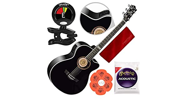 Tagima America Series Dallas-T NS Guitarra eléctrica acústica ...