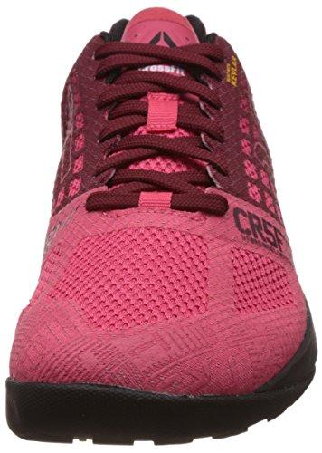 5 Multicolore Pink Reebok 0 Coal de Fearless Nano Femme Chaussures Course Black Crossfit Merlot EEqw86vxa