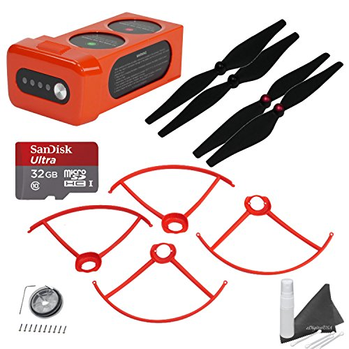 Autel-Robotics-X-Star-Premium-Accessory-Bundle-Includes-32GB-SanDisk-MicroSD-Card-X-Star-Battery-25-Min-Flight-Time-2-Sets-of-Propellers-Propeller-Guards-eDigitalUSA-Cleaning-Kit